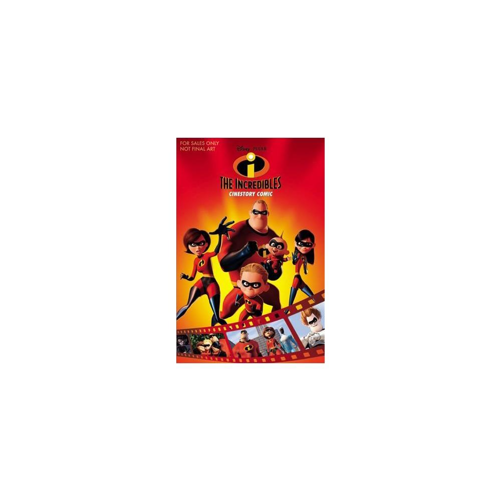 Disney/Pixar the Incredibles Cinestory Comic - (Paperback)