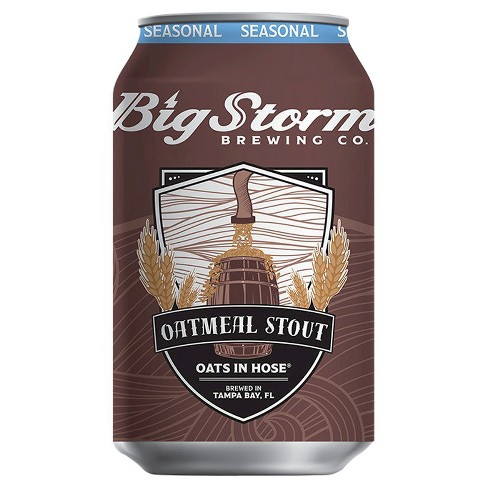 Big Storm® Oats in Hose Oatmeal Stout - 6pk / 12oz Cans - image 1 of 1