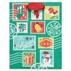 Papyrus Holiday Retro Stamps Medium Gift Bag - image 4 of 4