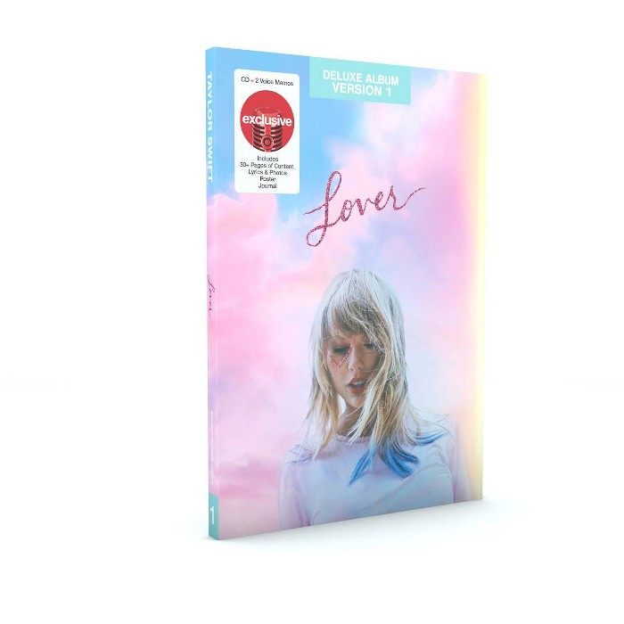 Taylor Swift - Lover (Target Exclusive Deluxe Version 1 CD) - image 1 of 1