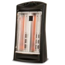 BLACK+DECKER Infrared Quartz Tower Manual Control Indoor HeaterBlack