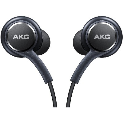 Samsung Earphones Tuned by AKG - Grey - S10/S10e/S10s/ S9/S9+/Note 9/S8/S8+ - Bulk Packaging