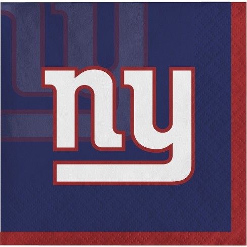 16ct New York Giants Cocktail Napkins - image 1 of 1