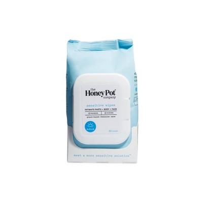 The Honey Pot Sensitive Feminine Wipes - 30ct