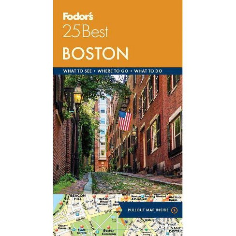Fodor's Boston 25 Best - (Full-Color Travel Guide) 9by  Fodor's Travel Guides (Paperback) - image 1 of 1