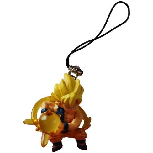 Bandai Bandai Dragon Ball Z Ripped Shirt Super Saiyan Goku Figure Phone Strap - image 1 of 1