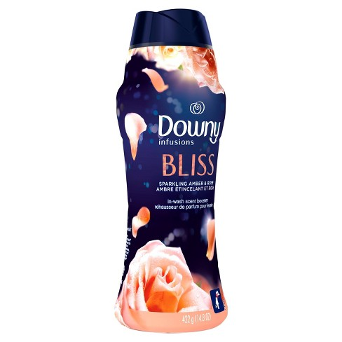 Downy Infusions In-Wash Amber Blossom Scented Booster Beads - 14.8oz - image 1 of 4