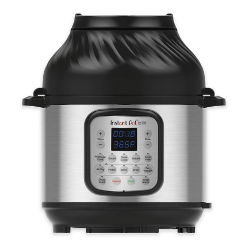 Instant Pot 8 qt 11-in-1 Air Fryer Duo Crisp + Electric Pressure Cooker - image 1 of 4