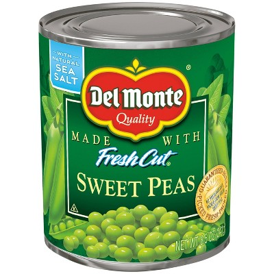 Del Monte Fresh Cut Sweet Peas 8.5oz
