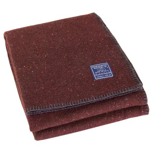 Utility Solid Bed Blanket - Faribault Woolen Mill - image 1 of 1