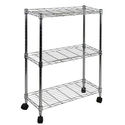 Oceanstar 3-Tier Shelving All-Purpose Utility Cart