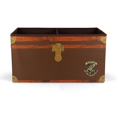 Robe Factory LLC Harry Potter Hogwarts Foldable Storage Chest Organizer | 24 Inches