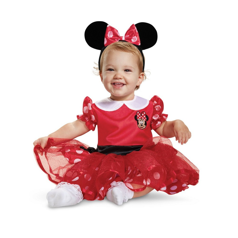 mickey mouse disguise inc glam red minnie costume for adults from