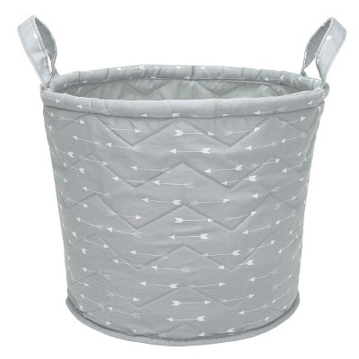 Quilted Storage Bin Arrows - Cloud Island™ Gray