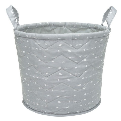 Quilted Storage Bin Arrows - Cloud Island™ Gray - image 1 of 2