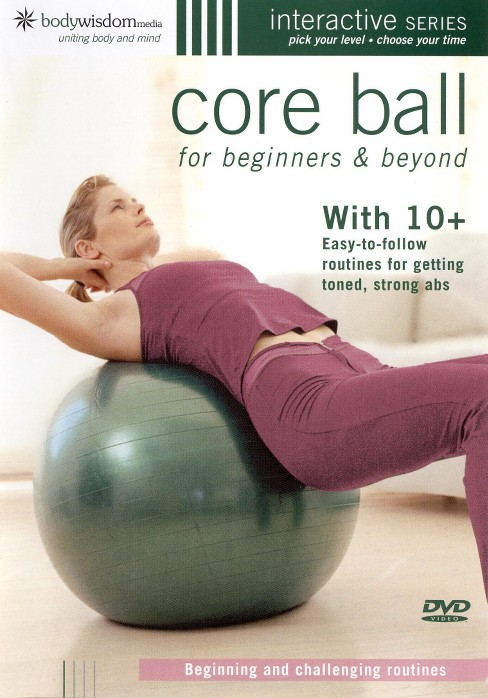 Core ball for beginners & beyond (DVD) - image 1 of 1