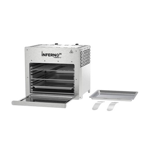 NorthFire INFERNO2G Propane Infrared Double Burner Outdoor Tabletop BBQ Grill - image 1 of 4