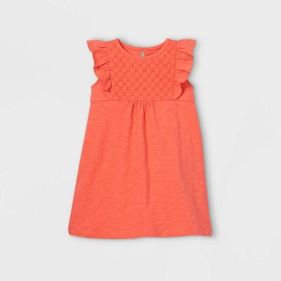 Toddler Girls' Eyelet Tank Dress - Just One You® made by carter's Peach