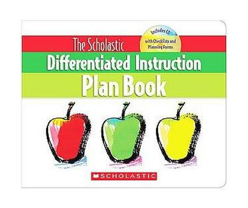 Scholastic Differentiated Instruction Plan Book (Paperback) (Cindy Middendorf) - image 1 of 1