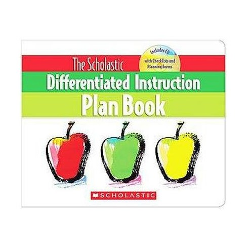 Scholastic Differentiated Instruction Plan Book Paperback Cindy