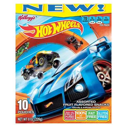 Kellogg's Hot Wheels Fruit Flavored Snacks - 10pk - image 1 of 1