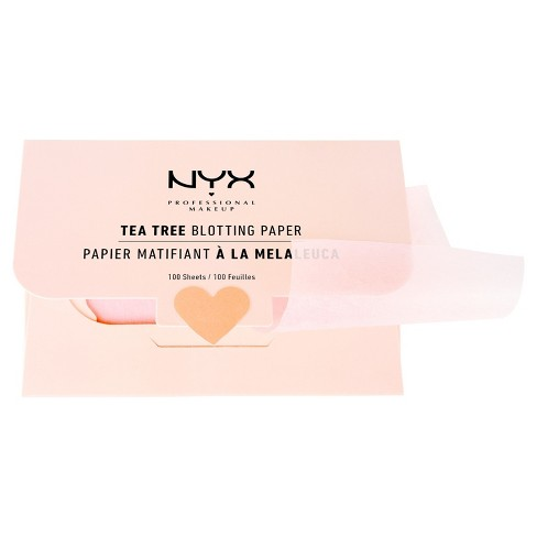 NYX Blotting Paper Tea Tree - 100 sheets - image 1 of 1