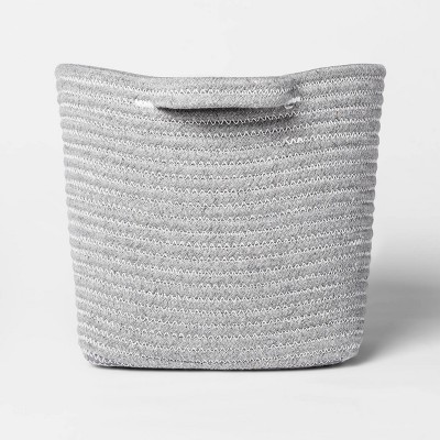 Bath Basket Medium Crate Gray - Threshold™