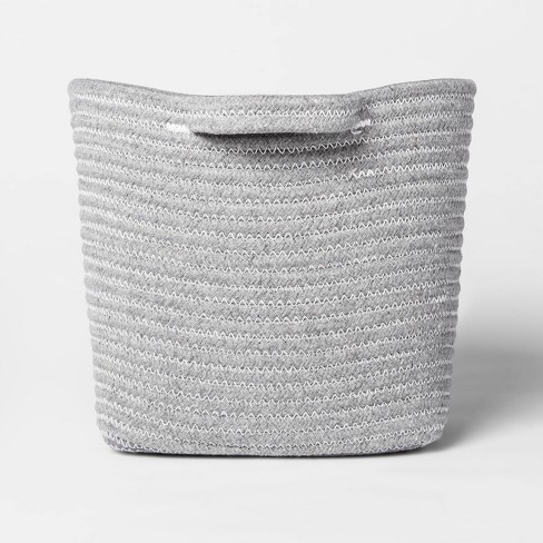 Bath Basket Medium Crate Gray - Threshold™ - image 1 of 4