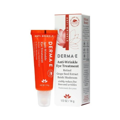 DERMA E Anti-Wrinkle Eye Treatment - 0.5oz