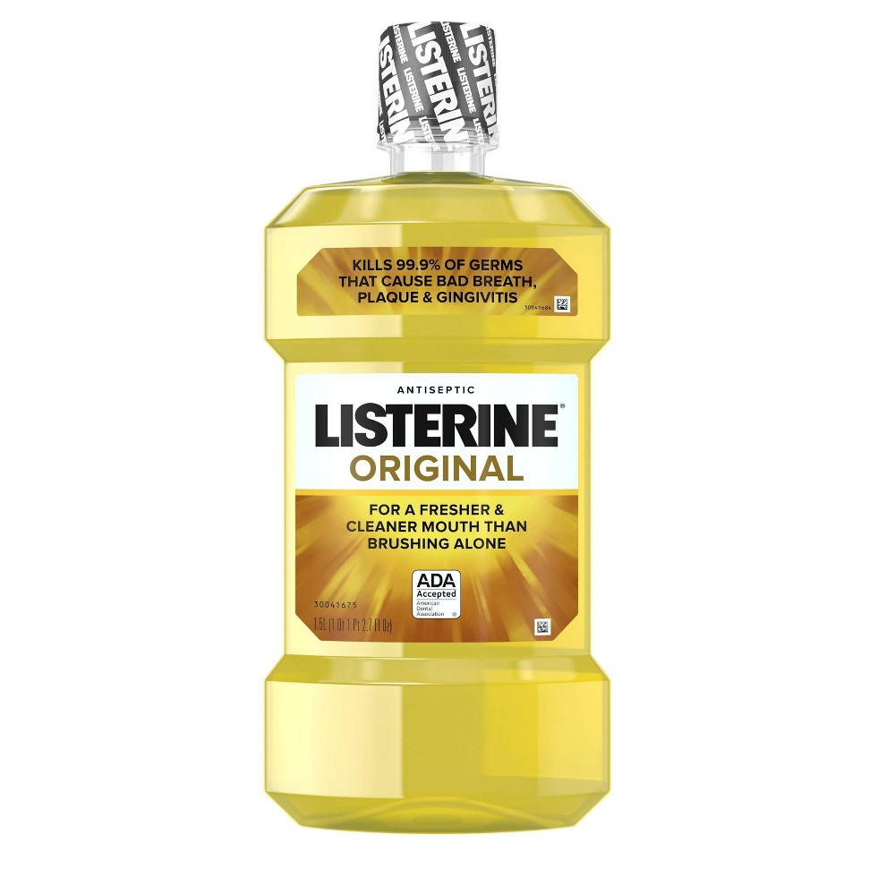 Image of Listerine Original Antiseptic Oral Care Mouthwash - 1.5L