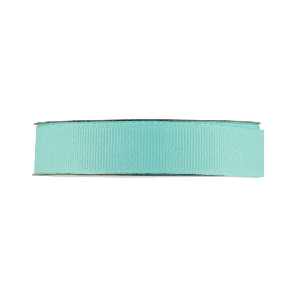 "Image of ""Offray Grosgrain Ribbon - 5/8"""" x 21ft - Aqua, Blue"""