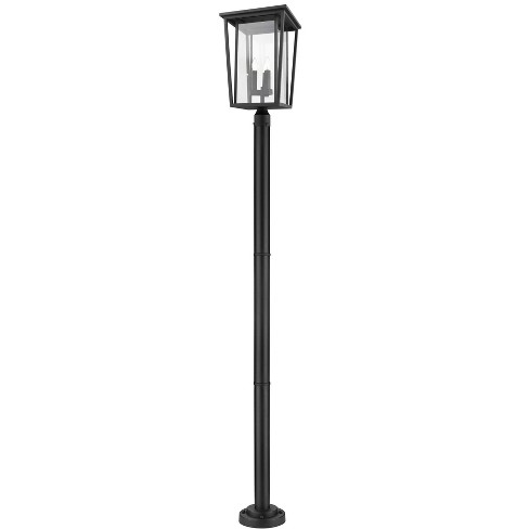 "Z-Lite 571PHXLR-567P Seoul 3 Light 97"" Tall Outdoor Single Head Post Light - image 1 of 1"