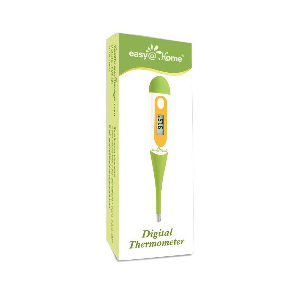 easy@Home Digital Oral Thermometer with Fever Alarm You will receive: An EMT-021 digital thermometer is an accurate fast reading body Temperature Thermometer for Oral and Underarm Measurement with Fever Alarm. Digital thermometer for adults. Fever thermometer. The Lo with a flickering F/ C is not an indication of low battery. A true low battery symbol is an empty flickering battery. When the environment or ambient temperature is higher than 109.2 F(42.9 C), LCD will display Hi F(Hi C), in this case, you may need to wait till the temperature is lower than 109.2 F(42.9 C) to take.