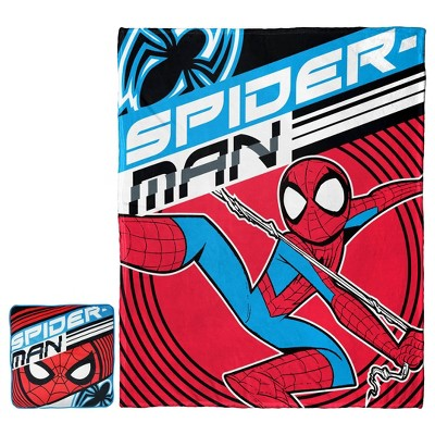 Spider-Man Cloud Pillow and Throw Set