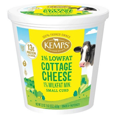 Kemps 1% Cottage Cheese - 22oz