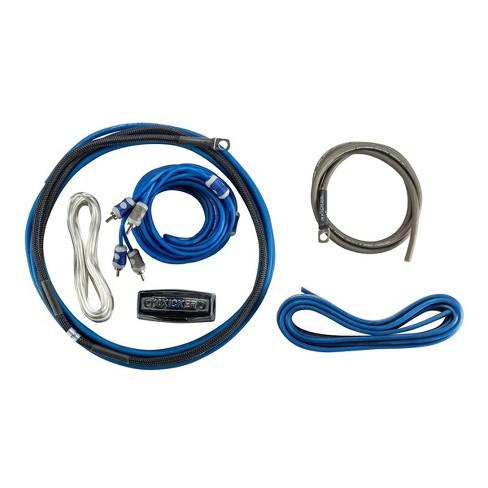 Kicker 46CK8 Premium K-Series 8AWG 2-Channel Amplifier Wiring Kit on