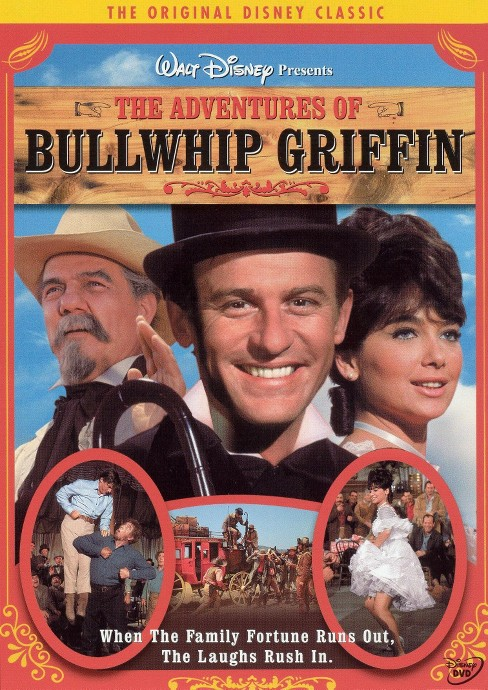 Adventures Of Bullwhip Griffin (DVD) - image 1 of 1