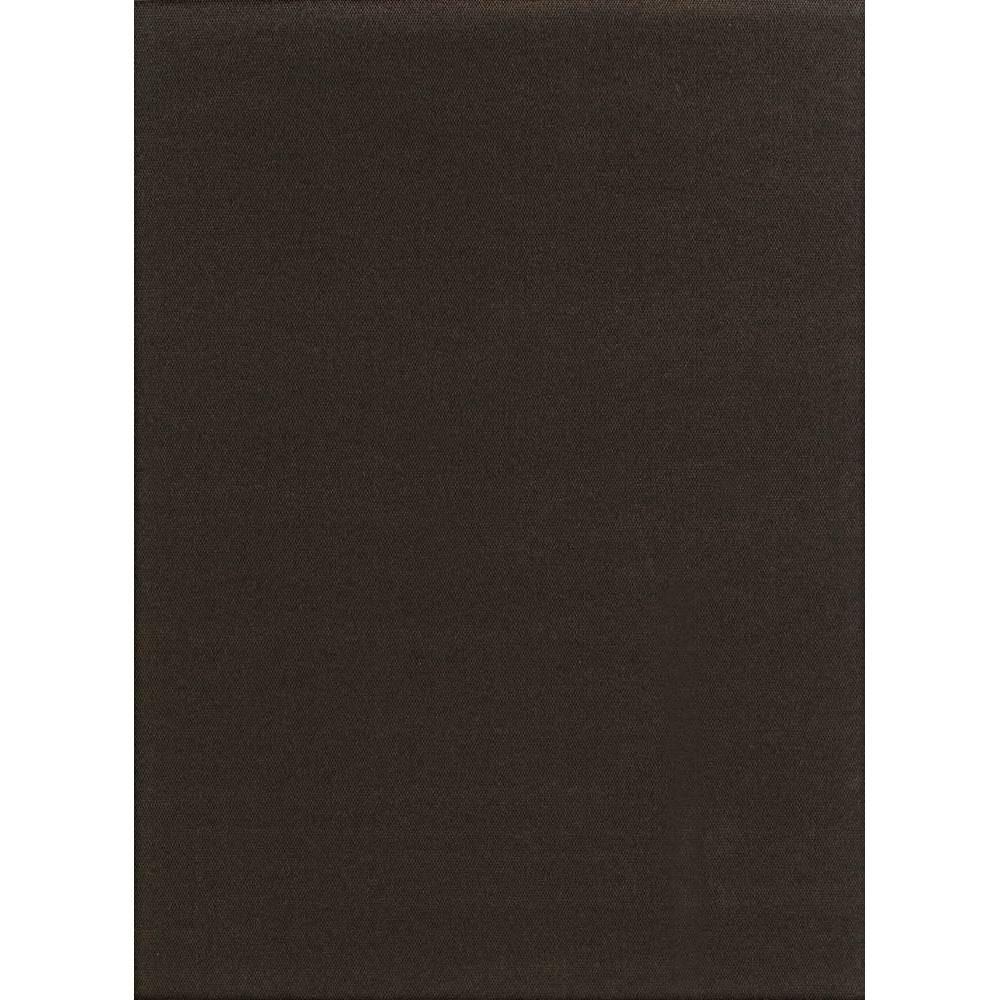 Image of 6' x 8' Hobnail Indoor/Outdoor Rug Chocolate (Brown) - Foss Floors
