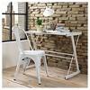 Metal Cafe Chair - Saracina Home - image 2 of 4