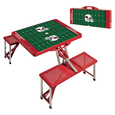 NFL Portable Picnic Table -Red by Picnic Time - image 1 of 3