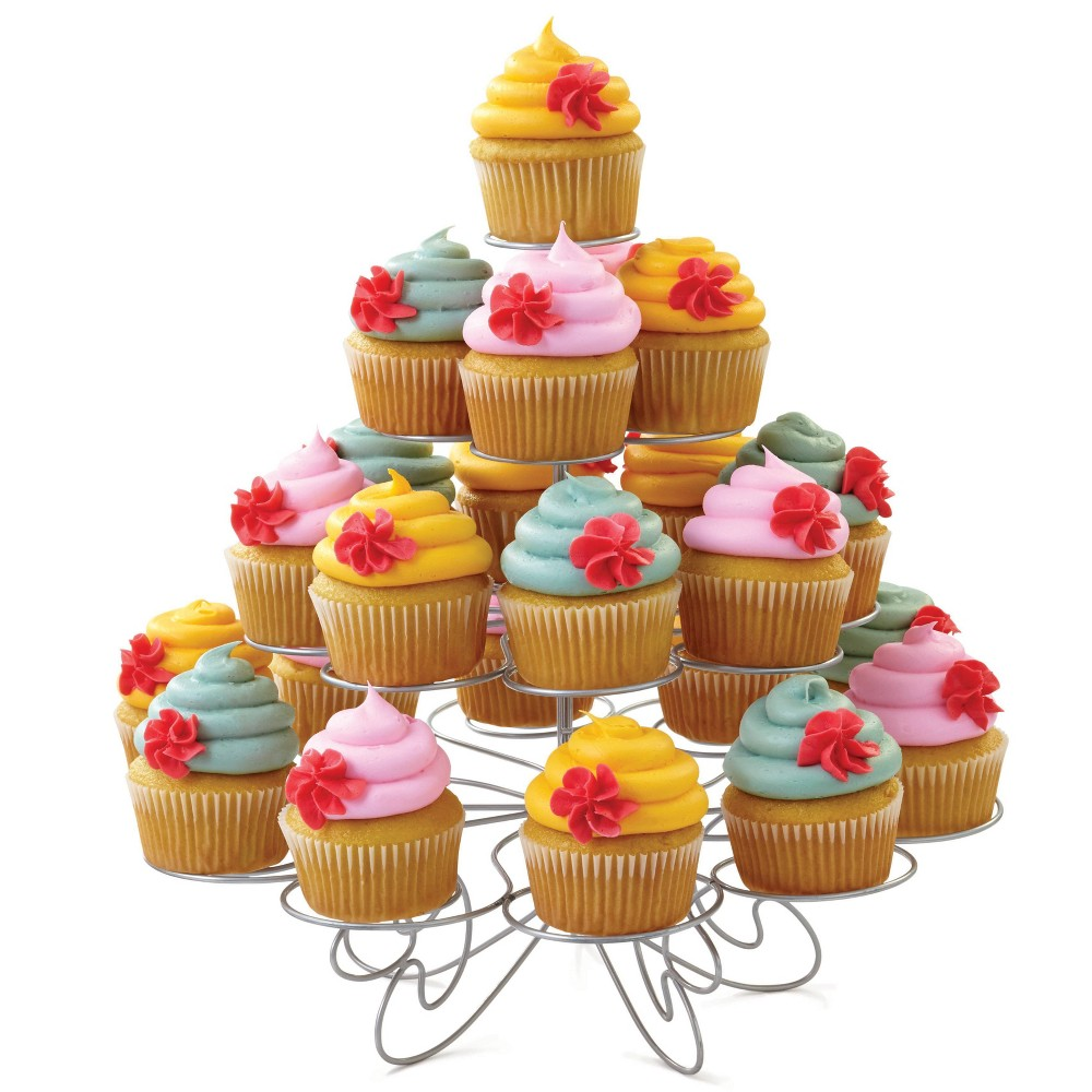 Image of Wilton Cupcakes-and-More 4 Tier Dessert Stand