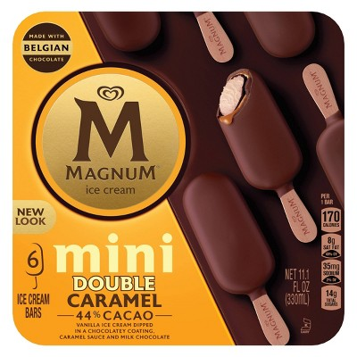 Magnum Mini Ice Cream Bars Double Caramel - 6ct