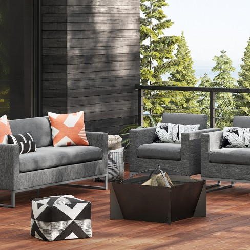 Asti Wood Burning Firepit - Charcoal - Project 62™ - image 1 of 4