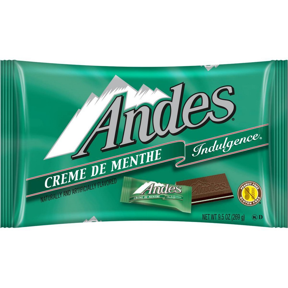 Andes Creme De Menthe Chocolate Thins 9 5oz