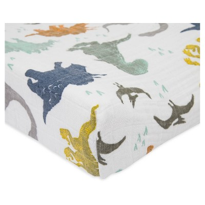Little Unicorn Changing Pad Cover - Dino Friend