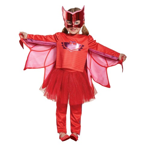 Girls Pj Masks Owlette Prestige Tutu Costume S(4-6X) - image 1 of 1
