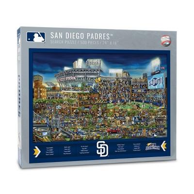 MLB San Diego Padres 500pcs Find Joe Journeyman Puzzle
