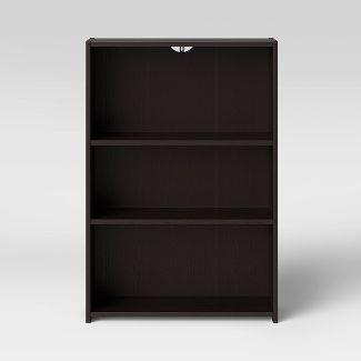 3 Shelf Bookcase Espresso Brown - Room Essentials™