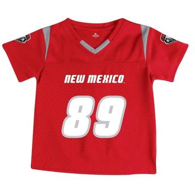 NCAA New Mexico Lobos Toddler Boys' Short Sleeve Jersey