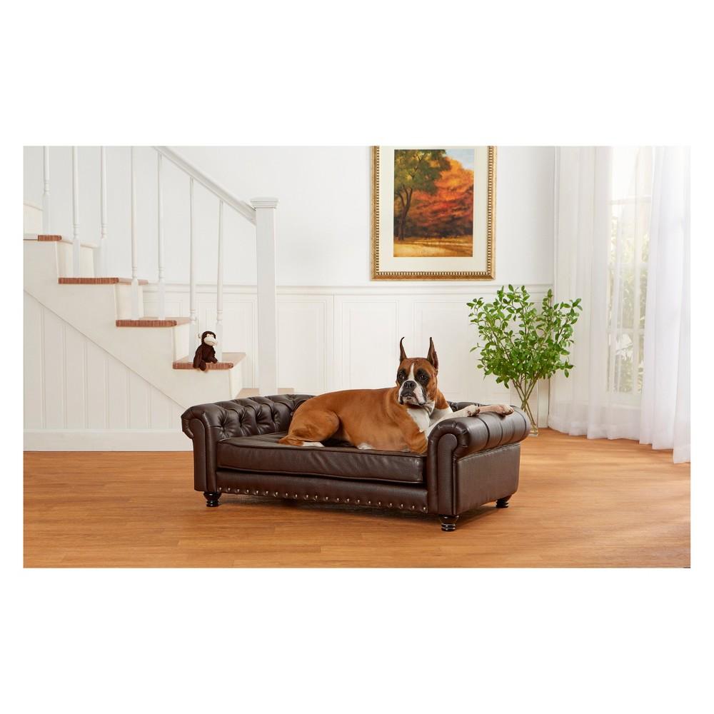 Enchanted Home Pet Wentworth Dog Sofa - Brown